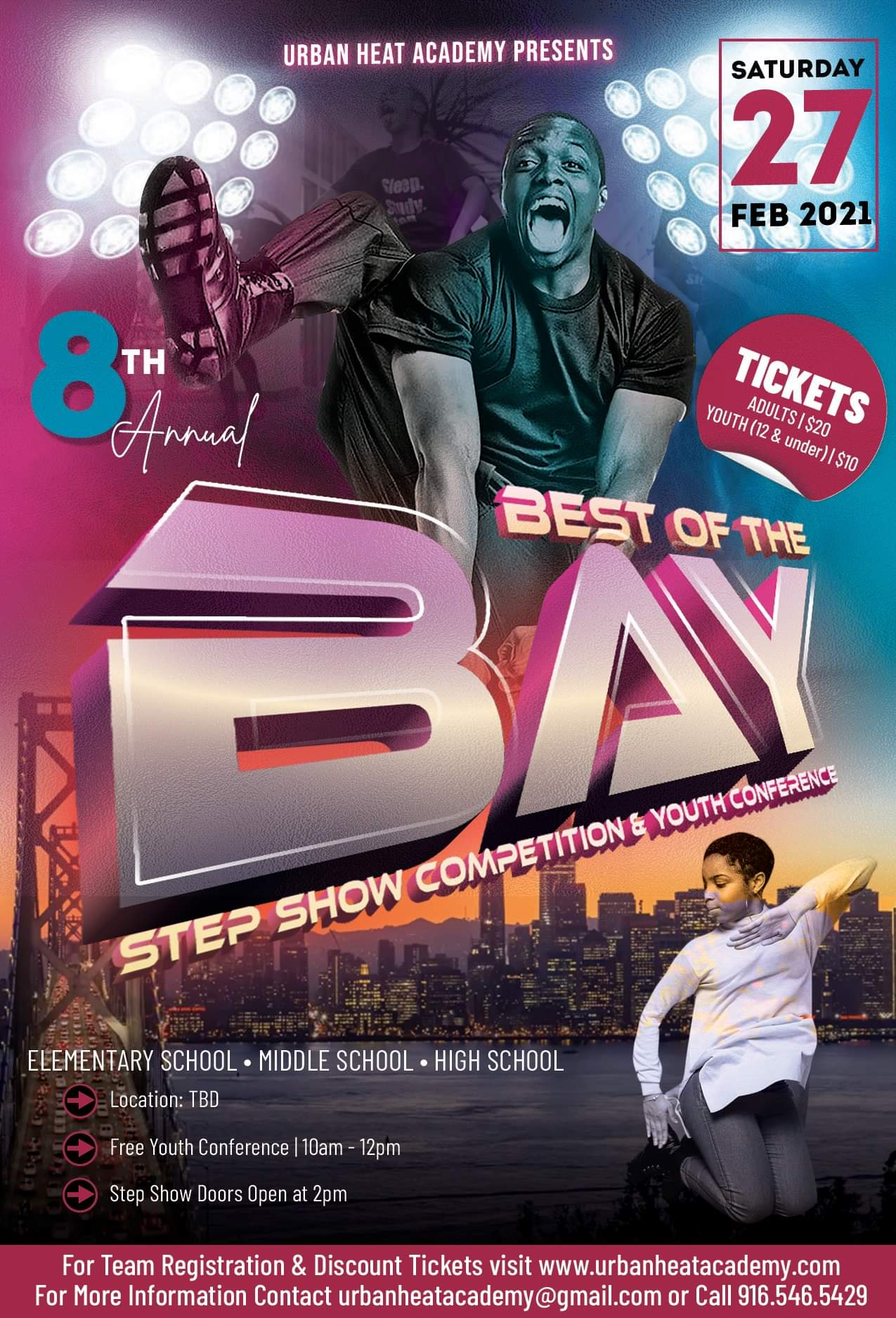 Best Of The Bay 2021 Upcoming Events